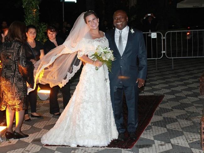 Homenagem póstuma no casamento   Pai no noivo   Foto Celso Tavares/EGO