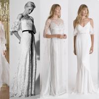 12 tendências de vestidos de noiva para 2018
