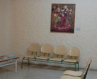 Obra donada a la recepción del hospital psiquiátrico. Autor: Frank Michel Jonshon Pedro