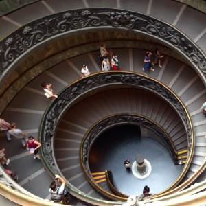 Spiraltreppenhaus im Vatikan