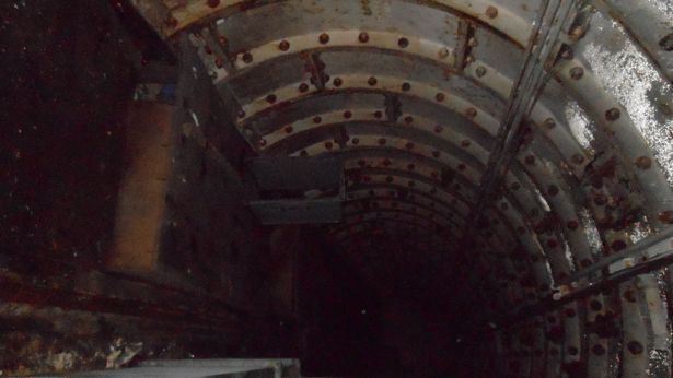 Staffordshire Tunnel Underground Alien Base