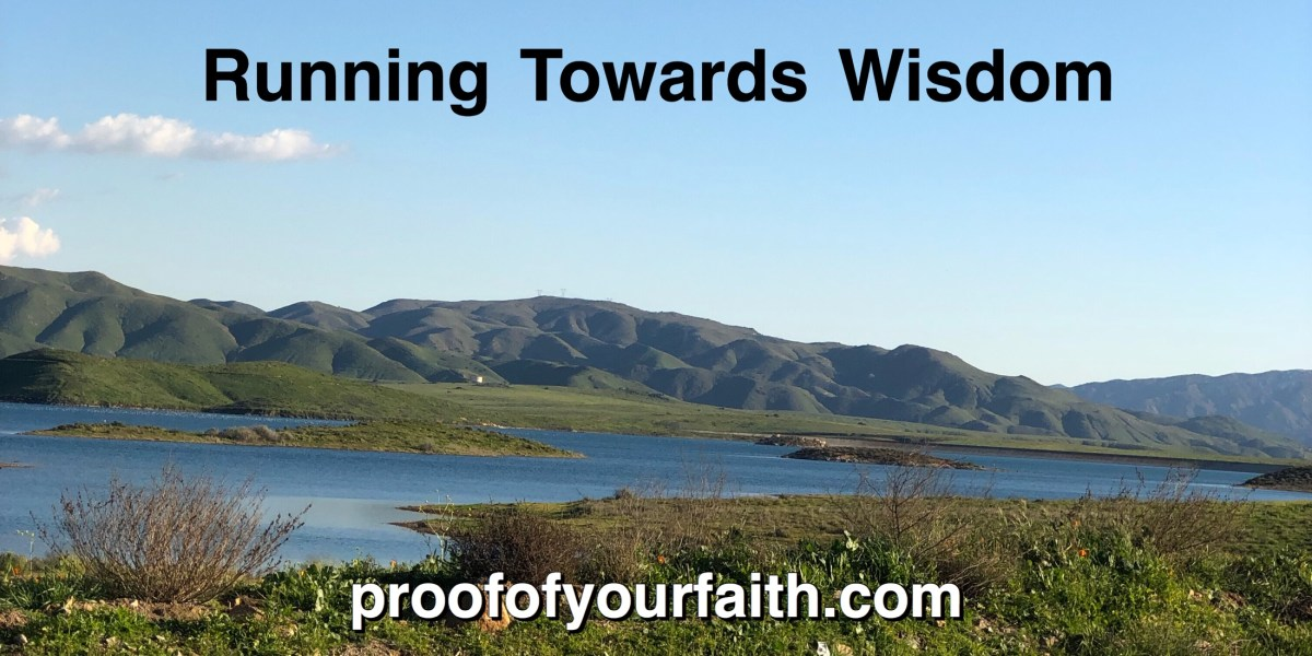 Running Towards Wisdom