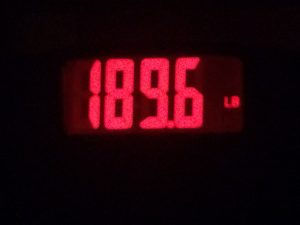 my weight
