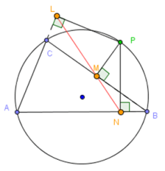 simpson line theorem