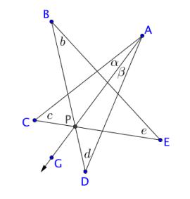 star polygon angle sum