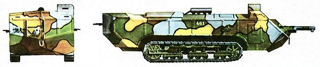 Французский средний танк «сен-шамон» М-16