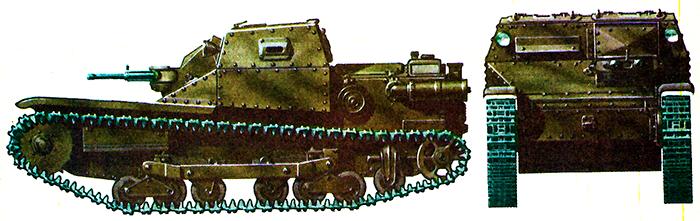 Итальянская танкетка CV-3/35