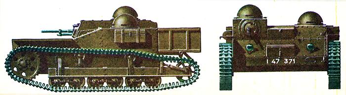 Французская танкетка «Рено UE»