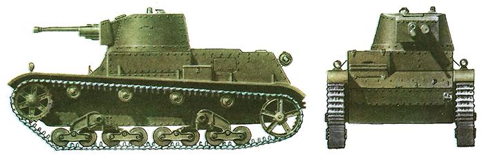 Польский легкий танк 7ТР выпуска 1937 года