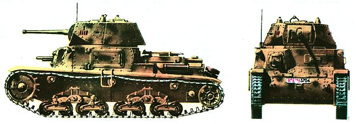 Итальянский легкий танк Ml3/40