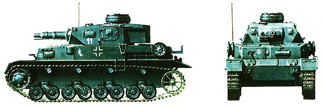 Немецкий средний танк T-IVE