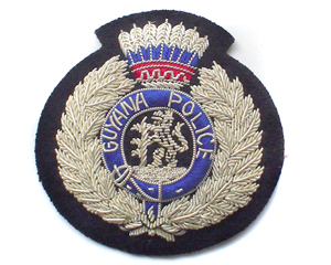 guyana police force badge
