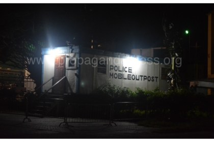 water street mobile police outpost guyana
