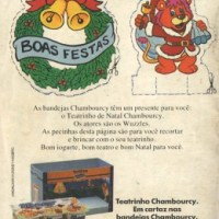 Iogurte Chambourcy Wuzzles (1987)