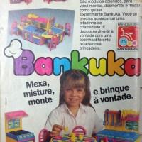 Bankuka, cozinha de plástico para meninas (1987)