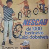 Nescau e as berlinetas dobráveis (1969)