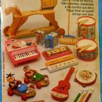 Instrumentos musicais Turma da Mônica (1986)