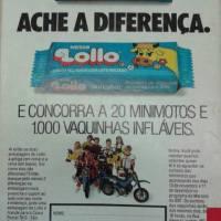 O Chocolate da Vaquinha (ou vocês sabiam que existiu um Disque Lollo?!?!?!) (1990)