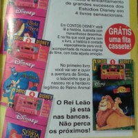 Contos Disney + fita K7 (1994)