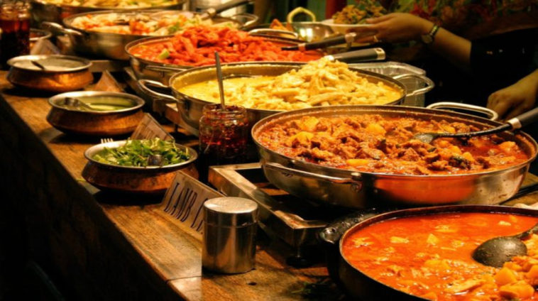 Indian Wedding Turns Into The Biggest Food Fight We've