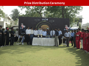 karachi prizes 300x224 All Pakistan Glow Cricket Tournament Concludes