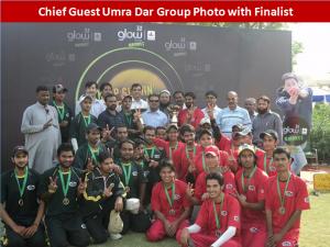 karachi team 300x225 All Pakistan Glow Cricket Tournament Concludes