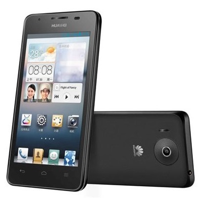 Huawei Ascend G510 Image 01 Huawei Unveils the Dual Core Ascend G510