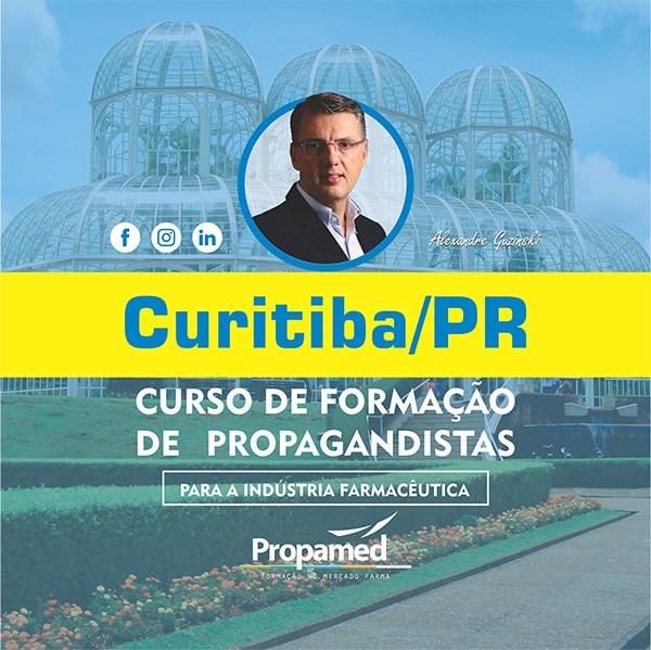 Curso de Formação de Propagandista - Curitiba/PR
