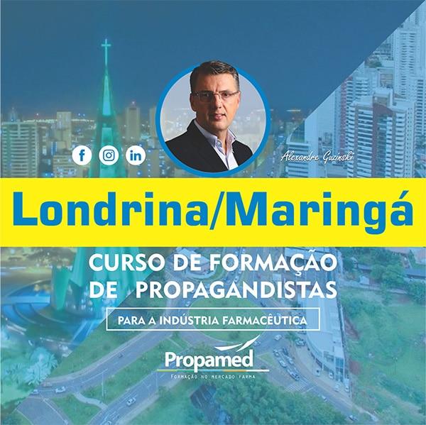 Curso de Formação de Propagandista - Maringá/PR