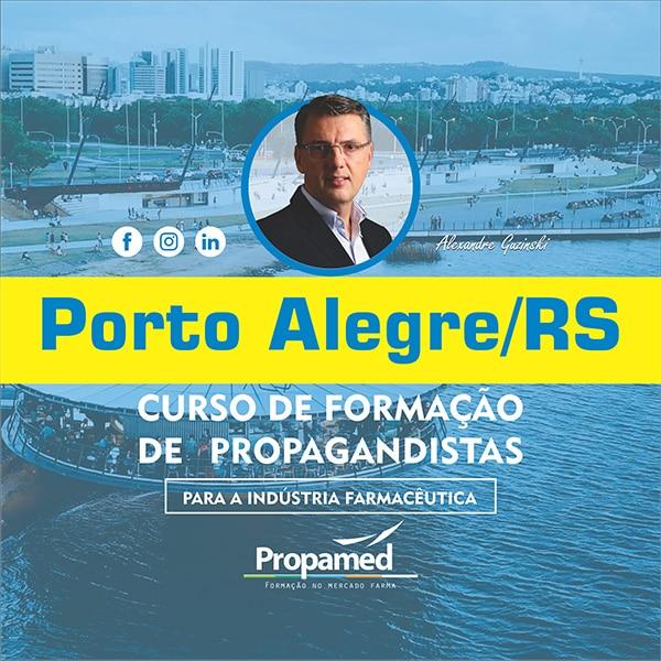 Curso de Formação de Propagandista - Porto Alegre/RS