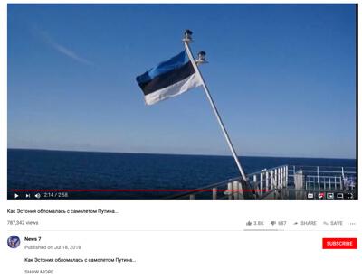 Robotervideos vervielfältigen auf Youtube die Propaganda gegen Estland