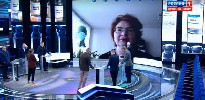 Auftreten im Kreml-Fernsehen ist nicht in Ordnung