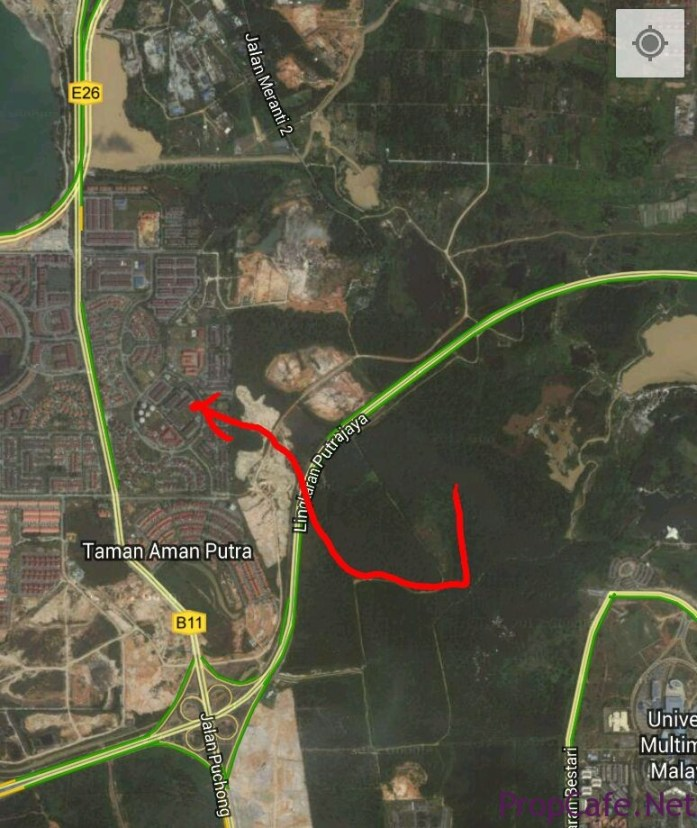 New access to puchong