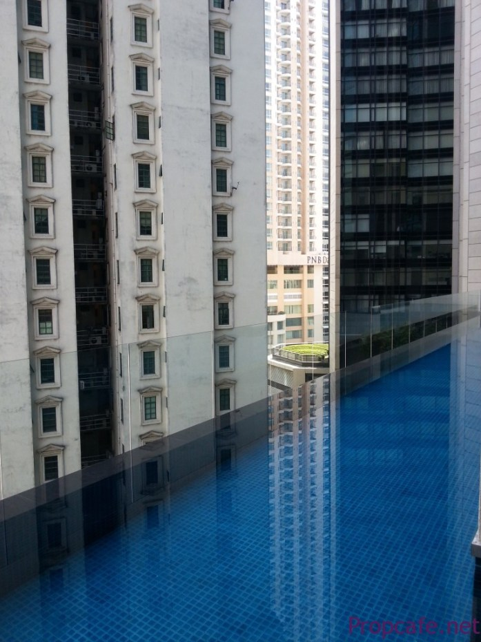 pool view @ 5th floor