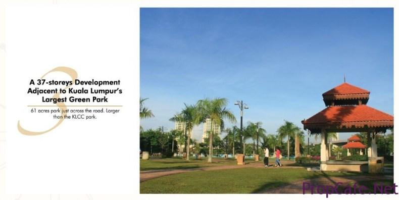 61 acre Pudu Ulu Park