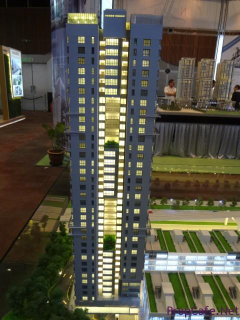 Tower E Facade