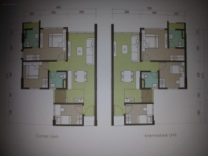 Typical floorplan...all same same...no variances.