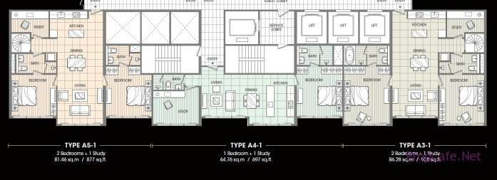 SOHO Suites layout_2