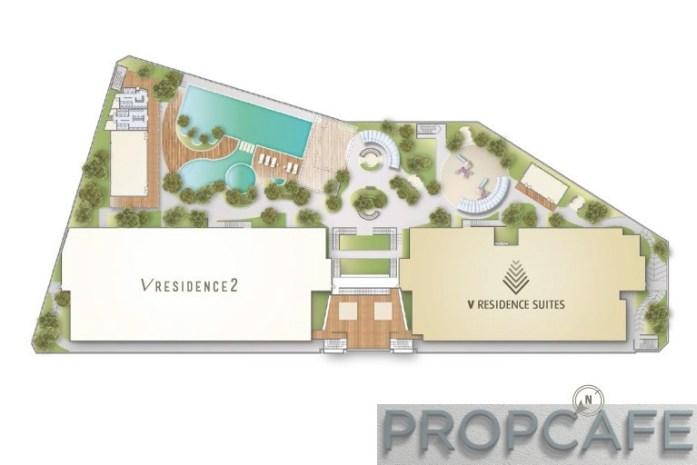 v residence suites masterplan