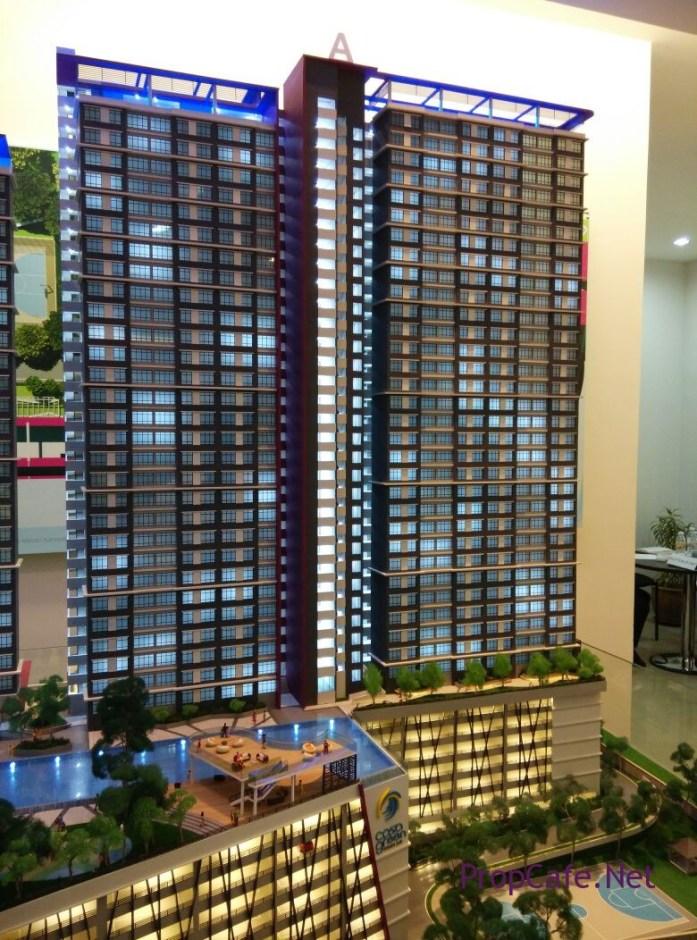 Casa Green Bukit Jalil Block A Facade