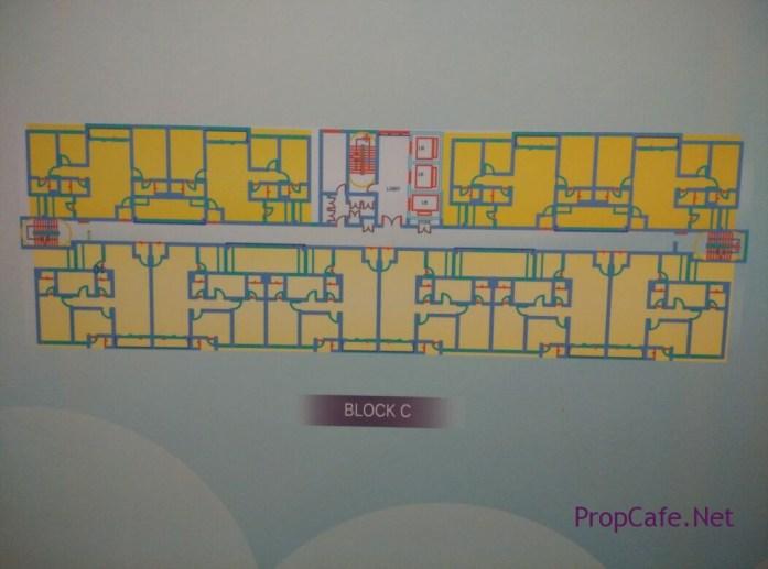 Casa Green Bukit Jalil Block C Floor Plan