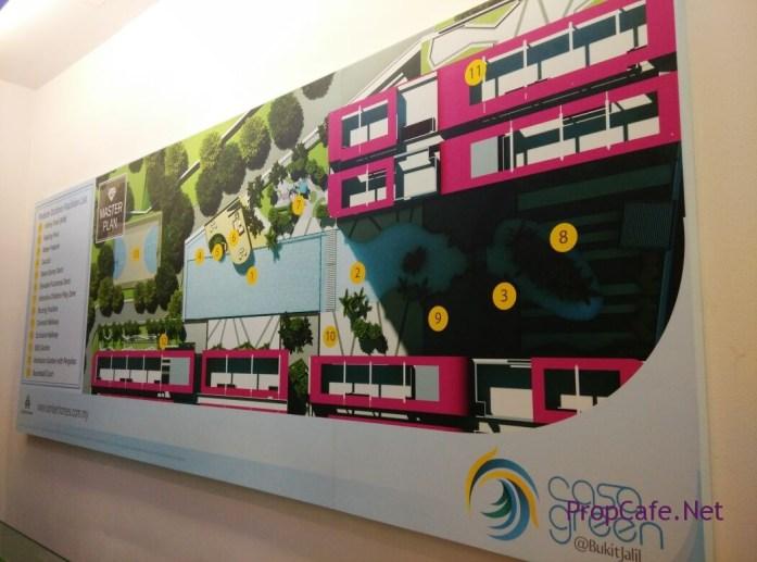 Casa Green Bukit Jalil Facilities Podium Floor Plan
