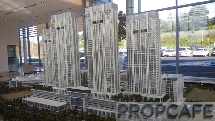 2. Park Residence scale model
