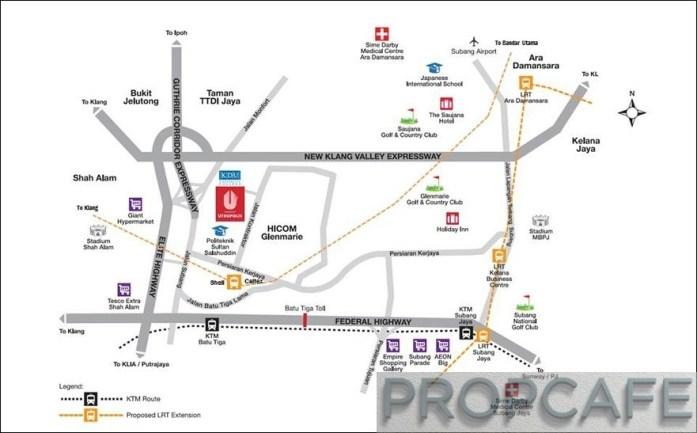 4. Map location