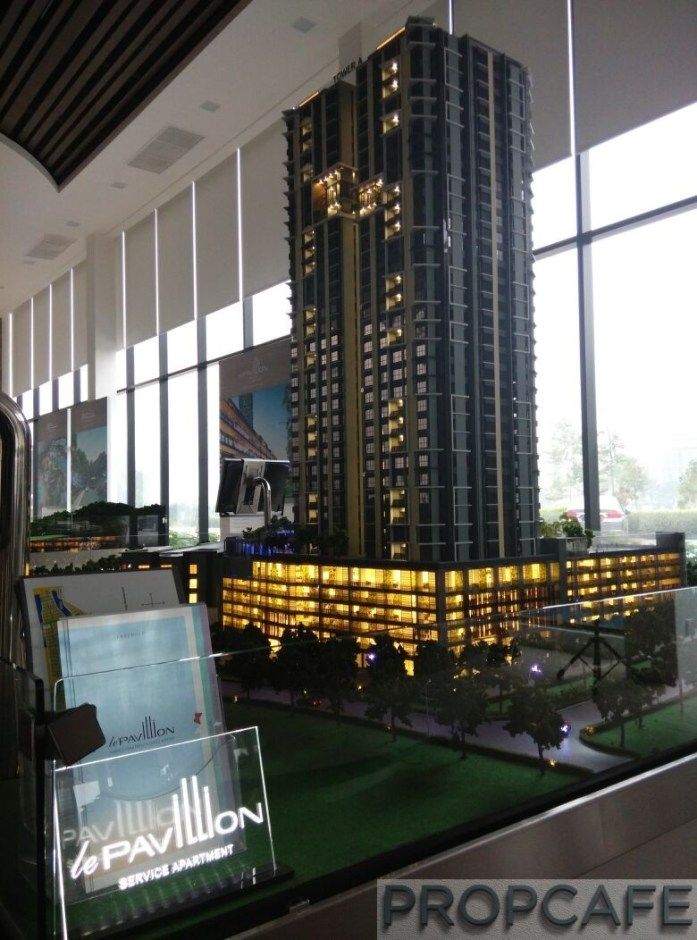 Le Pavillion Puchong Scale Model 01