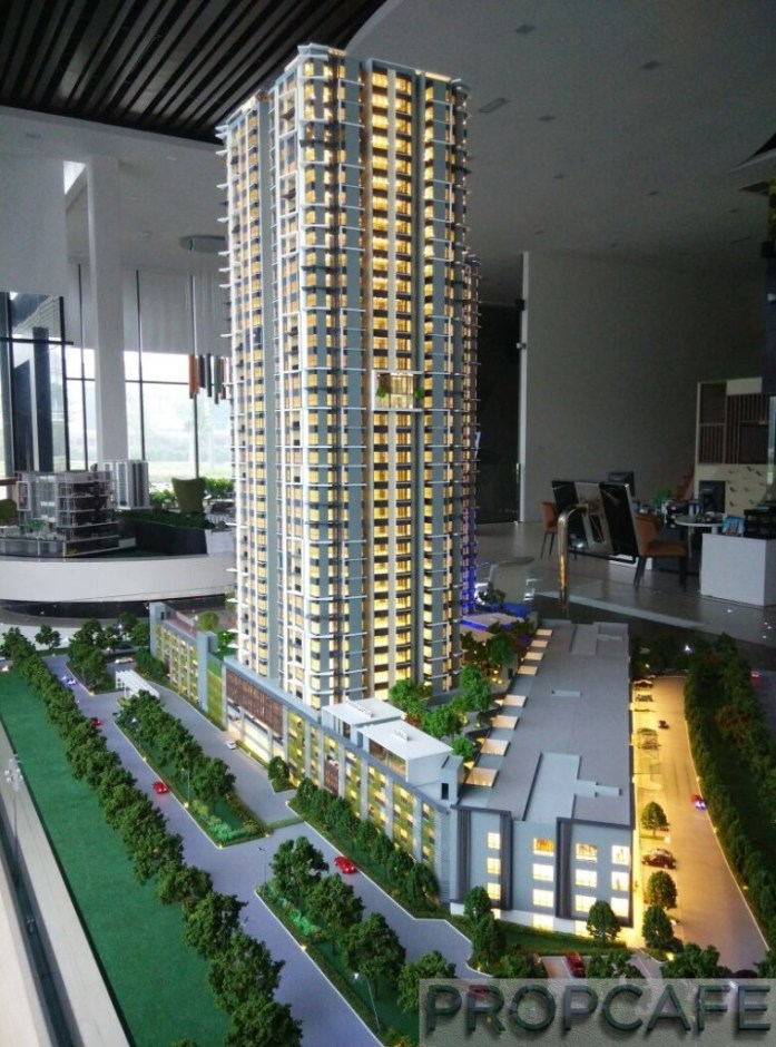 Le Pavillion Puchong Scale Model 13