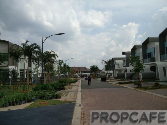 Setia Eco Glades Streetscape (2)