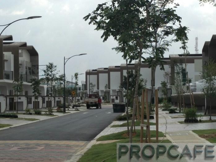 Setia Eco Glades Streetscape (3)