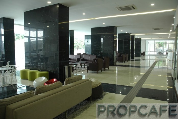 Lobby at Block A - Fully Air-Cond