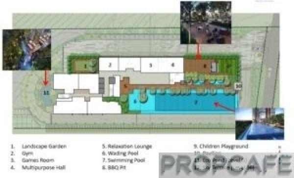Sunway Mont Residences facilites plan